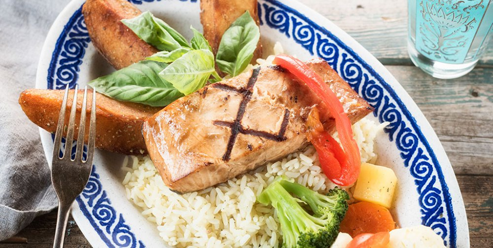 Le Grec's Balsamic Salmon Recipe